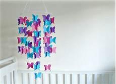 Schmetterlinge Selber Basteln Und Aufh 228 Ngen Mobile
