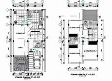 house plan dwg house plan detail dwg file cadbull