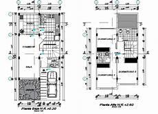 house plan dwg house plan detail dwg file cadbull