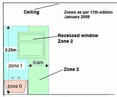Bathroom Zone 2 Fused Spur by Bathroom Heating Guide 17th Edition Electrical Zones In