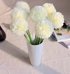 fiore a palla green artificial hydrangea flower small green