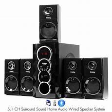 surround sound system frisby fs5070bt 800watt bluetooth 5 1 surround sound home