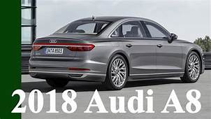 2018 Audi A8  Features And Technology Und