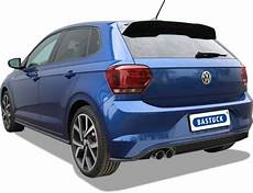 vw polo 6 aw including gti 2017 onwards sports exhaust