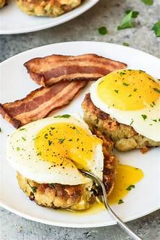 breakfast cakes cheesy and savory wellplated com