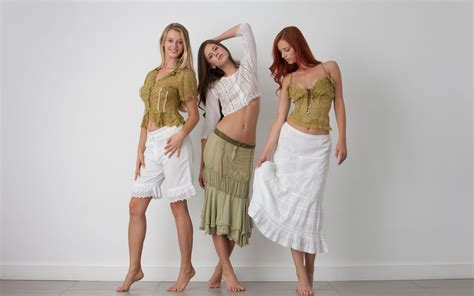 Three Girls Nude