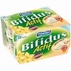 yaourt au bifidus yaourts au bifidus actif saveur vanille les 12 pots de