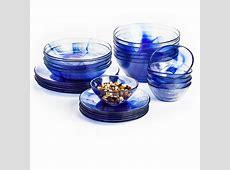 Bormioli Rocco Murano Dinner Plates   Tempered Glass, Set
