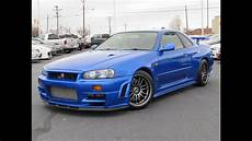 nissan skyline gtr r34 1999 nissan skyline gt r r34 start up test drive and