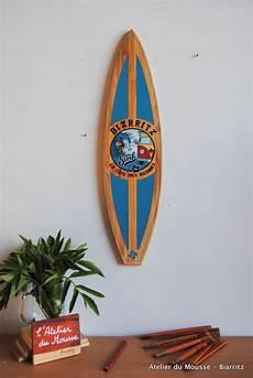Planche De Surf De D 233 Coration En Bois Mod 232 Le22 Turquoise