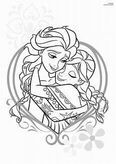 Ausmalbild Elsa Und Pin On Crafts And Drawings Bei Und Elsa Ausmalbilder