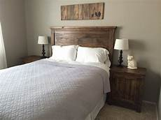 white headboard and nightstands diy projects