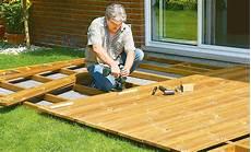 Holzterrasse Unterkonstruktion Holzterrasse Selbst De