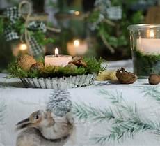 Alte Kuchenform Als Teelichthalter Tischdeko Weihnachten
