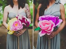 handmade paper flower wedding nata jess green wedding
