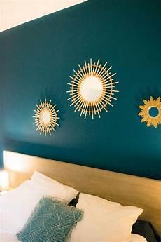 d 233 co salon tete de lit peinture bleu canard chambre