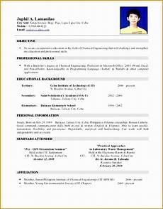 5 jobstreet resume sle free sles exles format resume curruculum vitae free