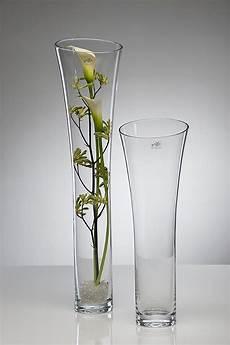 glasvase blumenvase bodenvase vase 70 cm glas hoch deko ebay