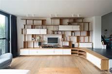 grande biblioth 232 que meuble tv en bois avec rangements