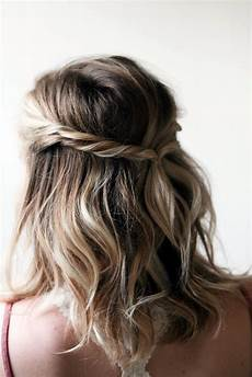 Easy Half Up Half Hairstyles