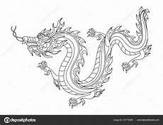 chinesischer drache malvorlage vorlagen zum ausmalen