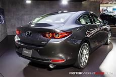 mazda sedan 2020 la auto show 2018 2020 mazda3 hatchback and sedan
