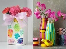 Vasen Selber Machen - diy vase als dekoidee und selbstgemachtes geschenk freshouse