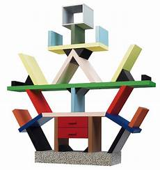 libreria sottsass 64 in the box the color pattern and objects