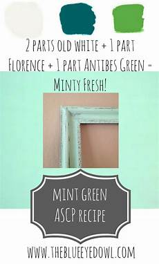 how to make the color mint green with paint 17 best images about ascp colors tips ideas pinterest sloan paints chalk paint