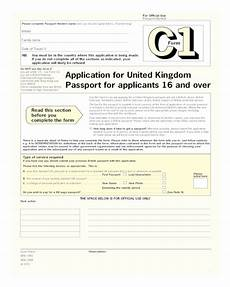 2020 passport application form fillable printable pdf forms handypdf