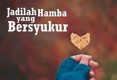 Hadits Bersyukur Rezeki Gambar Islami