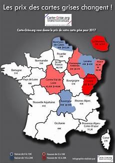 prix cheval fiscal 2017 prix de la carte grise en 2017 par r 233 gion