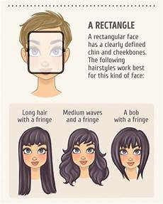 2 a rectangle in 2019 face shape hairstyles haircut