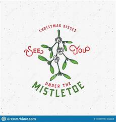 merry christmas abstract vector retro label sign or logo template colorful drawn