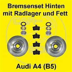 bremsscheiben mit radlager hinten f 252 r audi a4 8d b5 ebay
