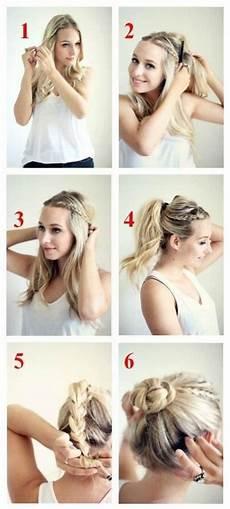 15 Braided Bun Updos Ideas Popular Haircuts