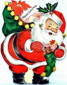 merry christmas vintage santa retro christmas card retro santa vintage christmas cards