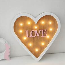 romantic heart shaped night light fashion home decor wall light 3d children s bedroom bedside