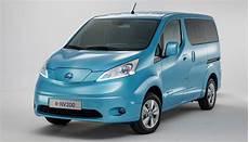 Neue Elektroauto Transporter Nissan E Nv200 Peugeot