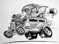 Jeff Norwell Art  The Jalopy Journal Cartoon