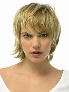 wispy bangs medium hair styles
