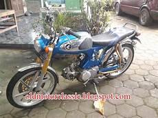 S90 Modif honda s90 modif blue retro classic sukoharjo classic
