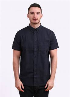 paul smith classic fit short sleeve shirt navy