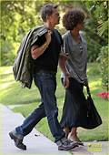 Halle Berry & Olivier Martinez Memorial Mates Photo