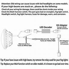 halo fog l wiring diagram headlights question page 2 ford truck enthusiasts forums