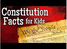 how to explain the constitution to kids
