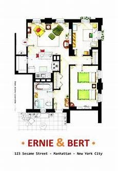 Sitcom Apartment Blueprints by Las 55 Mejores Im 225 Genes De Tv Floorplans En 2019 Planos