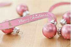 merry christmas written pink ribbon stock images image 35225234