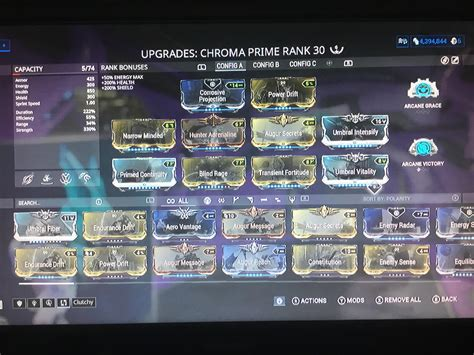 Adaptation Mod Warframe