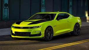 Hot New Color Chevy Will Debut Shock Yellow Camaro At SEMA